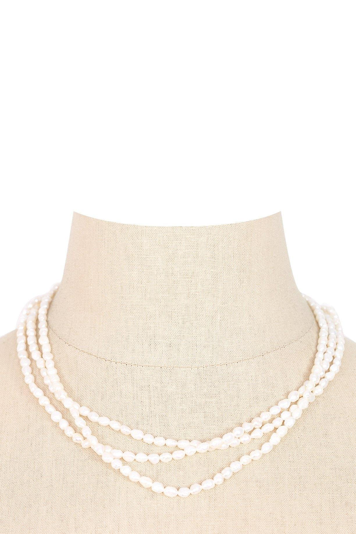 60's__Vintage__Pearl Layering Necklace