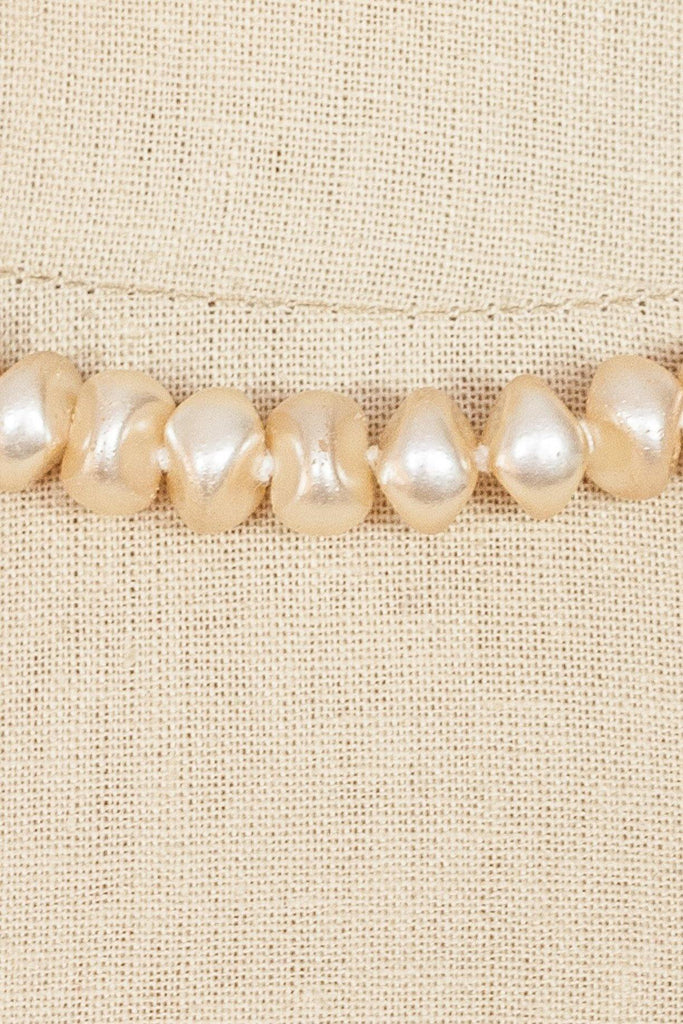 50's__Vintage__Baroque Pearl Necklace