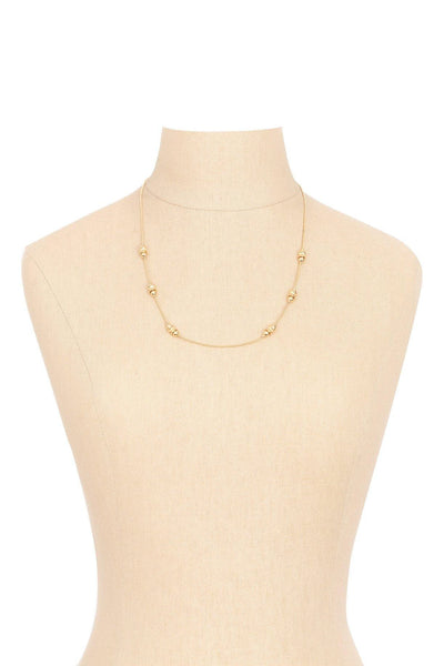80's__Napier__Dainty Bauble Necklace