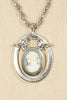 50's__Vintage__Cameo Pendant Necklace
