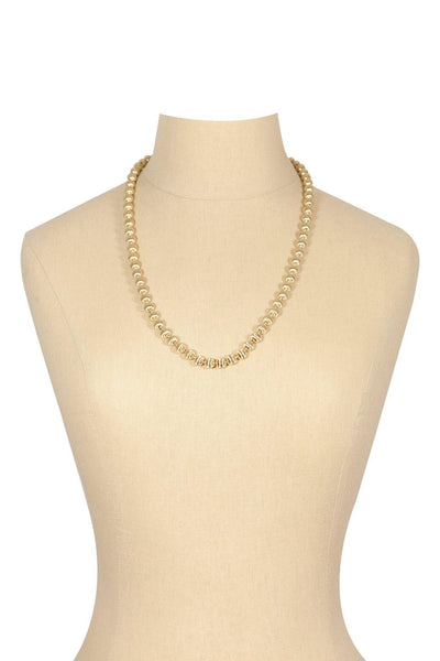 60's__Trifari__Classic Gold Necklace