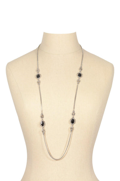 60's__Sarah Coventry__Long Charm Necklace
