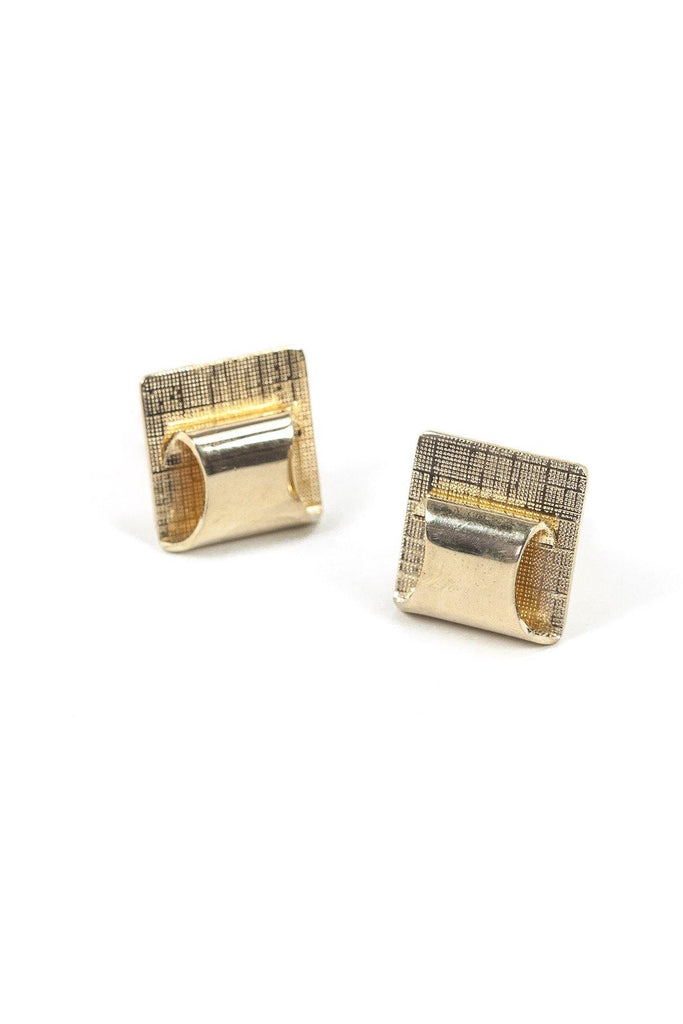 60's__Vintage__Gold Cuff Links