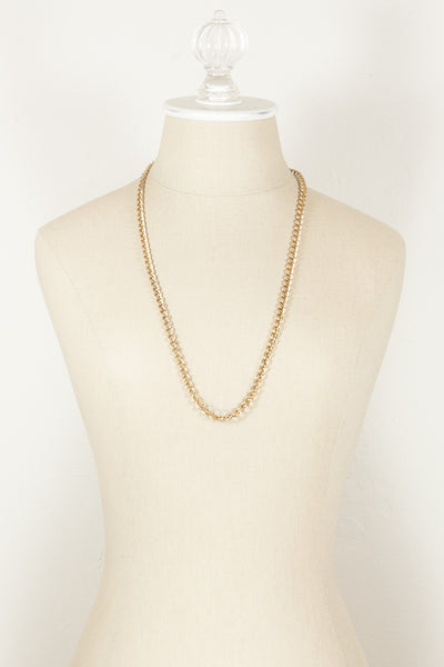70's__Sarah Coventry__Classic Gold Chain Necklace