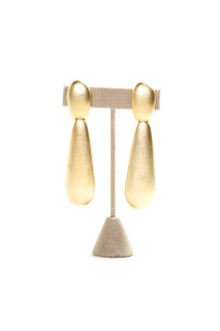 70's__Erwin Pearl__Statement Drop Earrings
