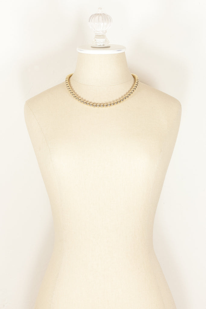50's__Park Lane__Classic Ball Necklace