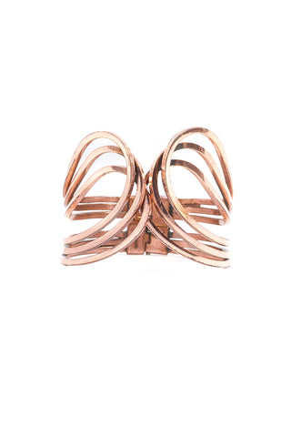 70's__Vintage__Copper Statement Cuff