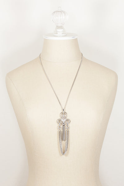 80's__Vintage Sarah Coventry__Tassel Pendant Necklace
