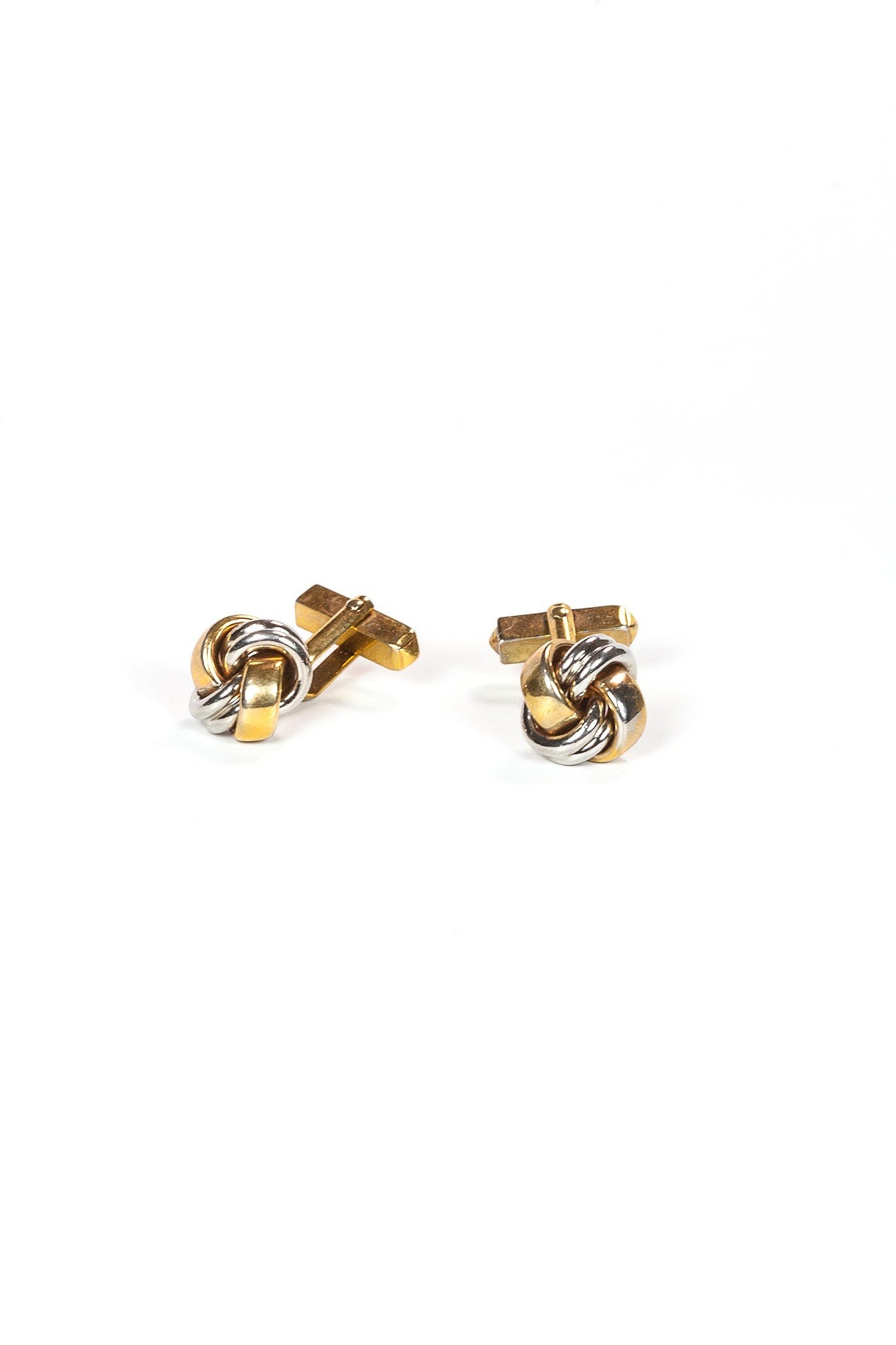 70's__Swank__Knot Cuff Links