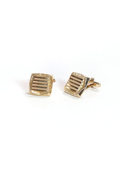 70's__Vintage__Square Cuff Links