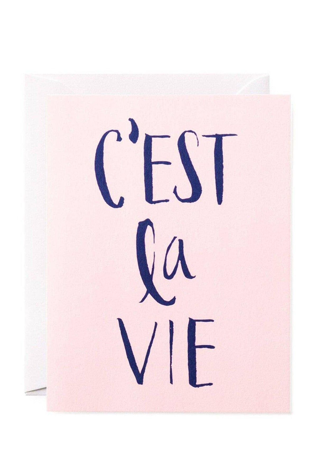 C'est La Vie Card from All My Layers Paper Co.