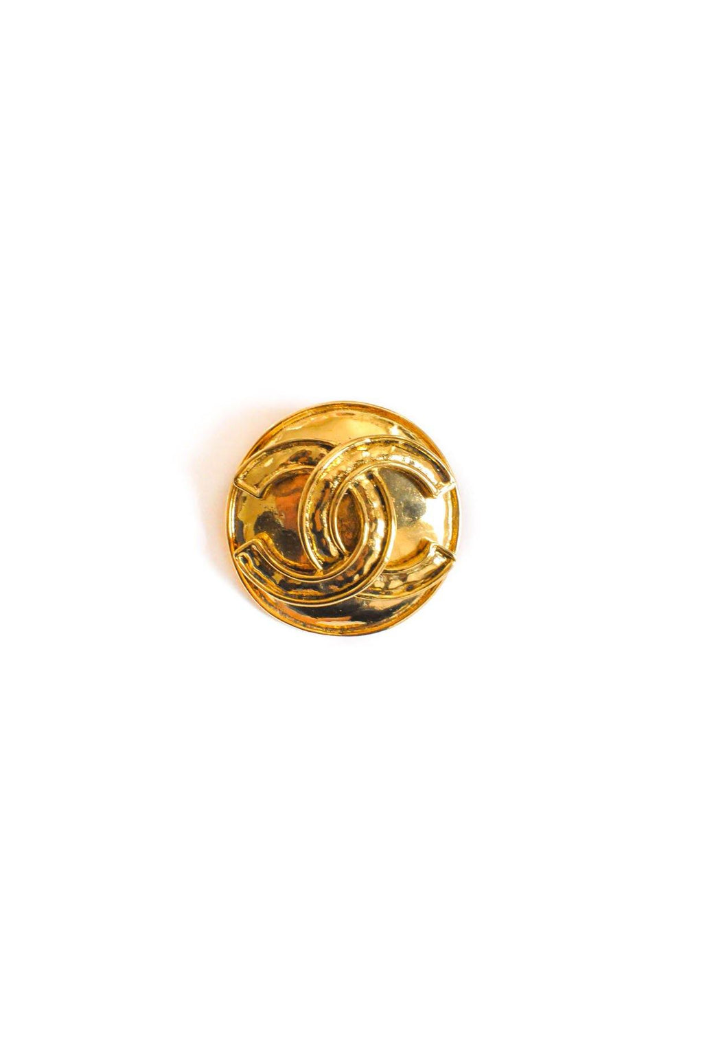 Chanel CC Coin Brooch
