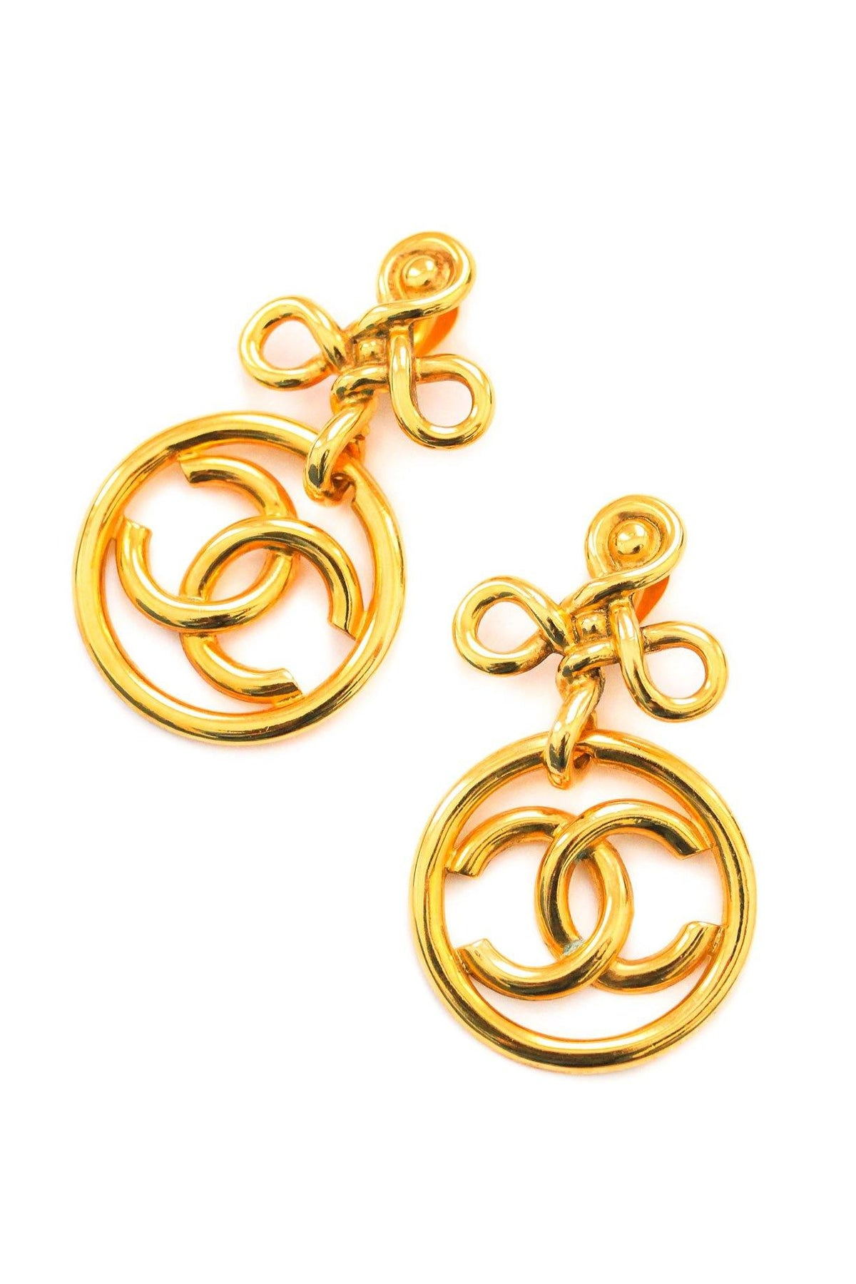 Chanel Statement Clip-on Earrings from Sweet & Spark