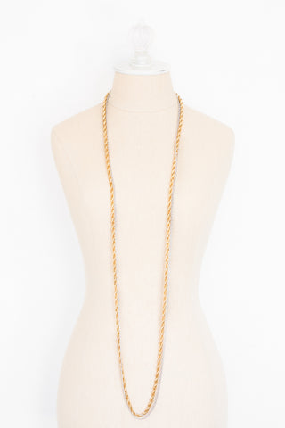70's__Vendome__Mixed Metals Necklace