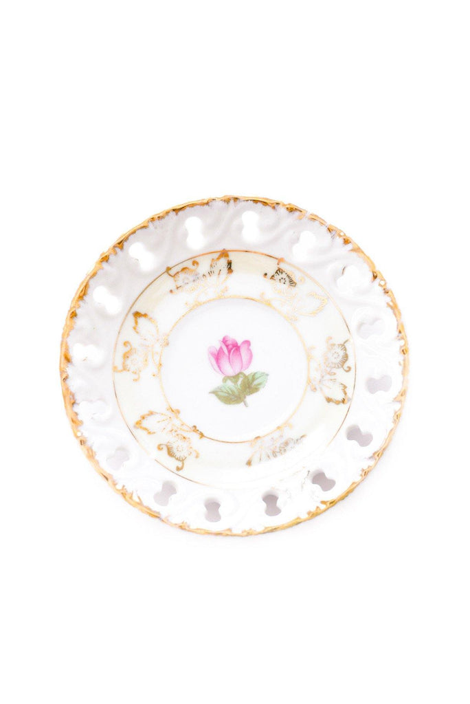 Rose & Gold Jewelry Dish