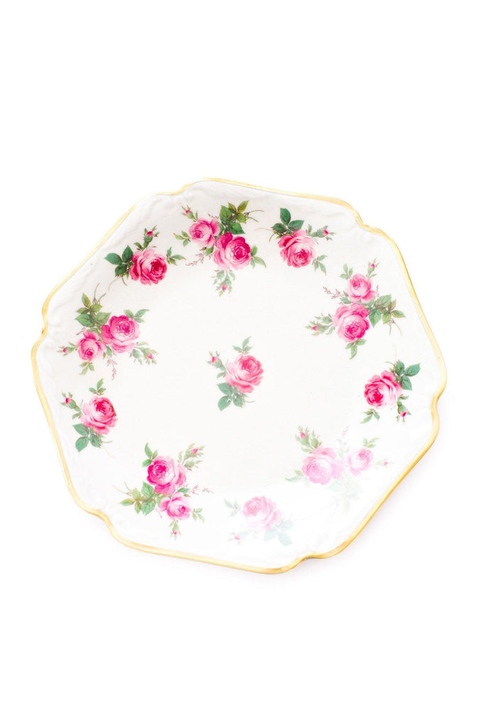 Rose Floral Jewelry Dish