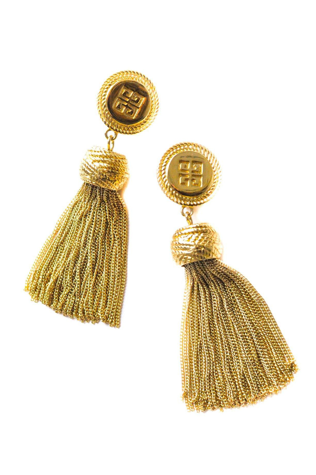Givenchy Tassel Clip-on Earrings
