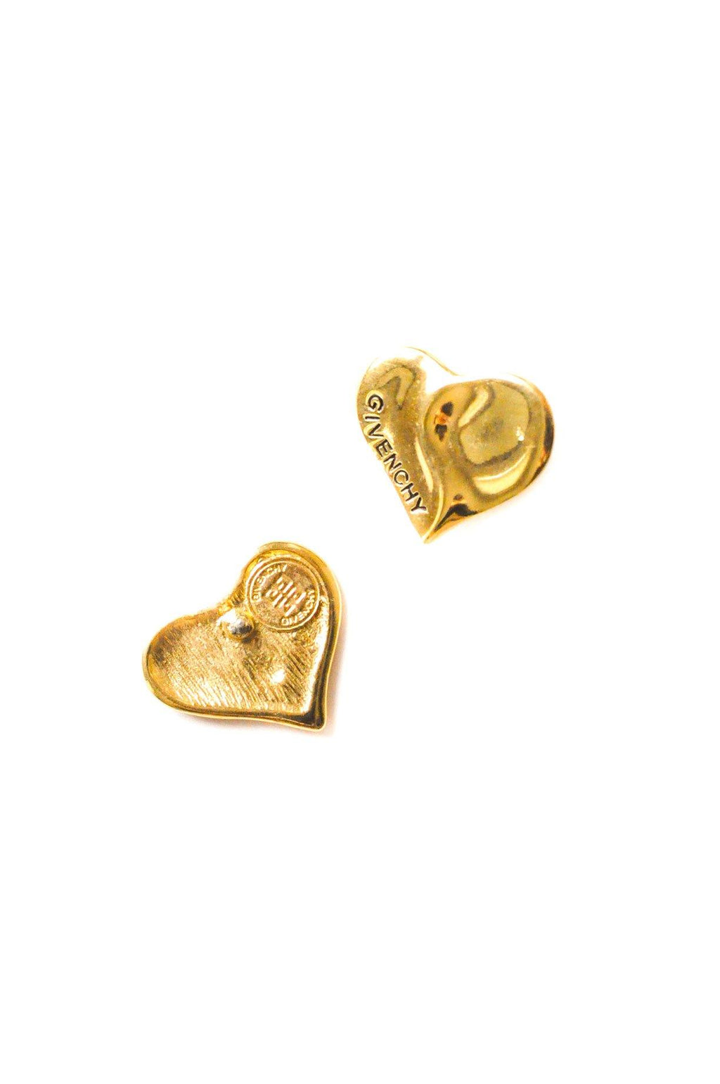 Givenchy Heart Pierced Earrings