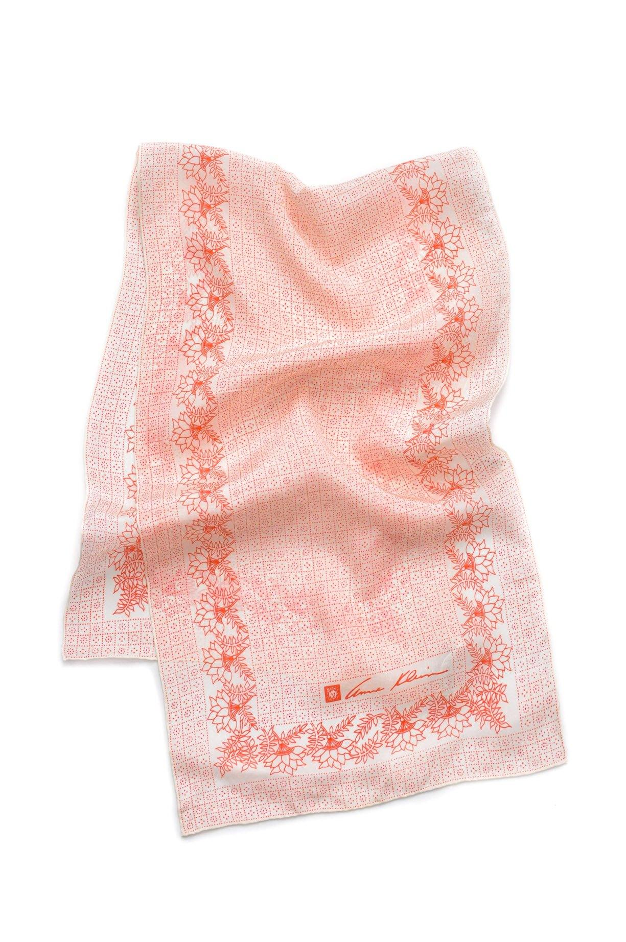 Floral Dot Rectangle Scarf