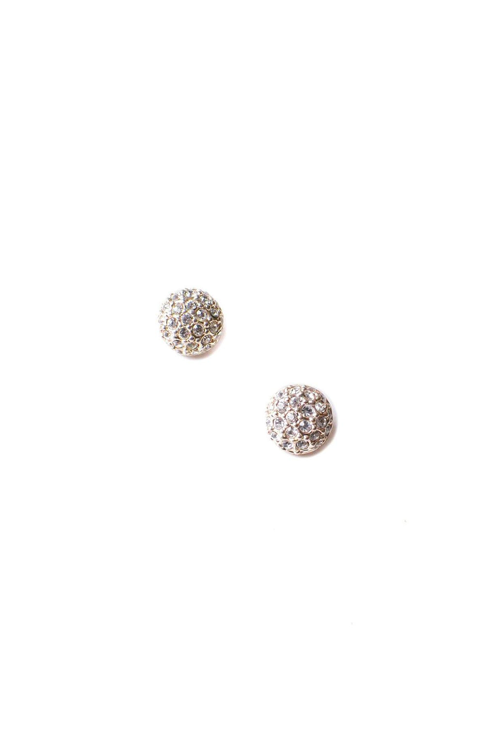 Givenchy Rhinestone Earrings