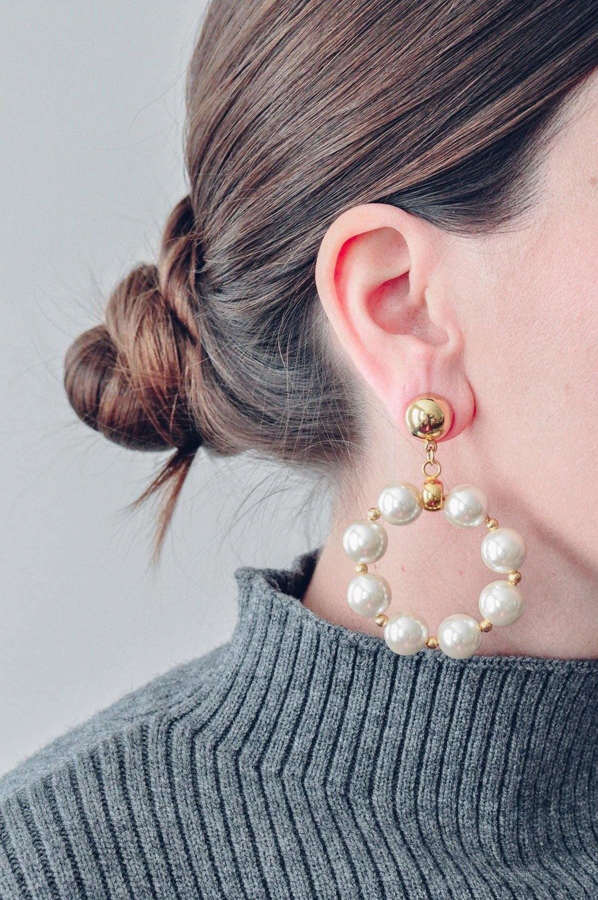 Vintage Statement Hoop Earrings from Sweet & Spark.