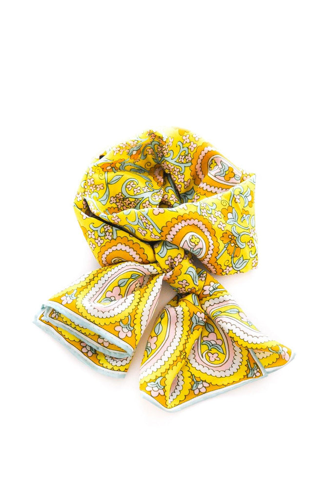 Paisley Print Rectangle Scarf
