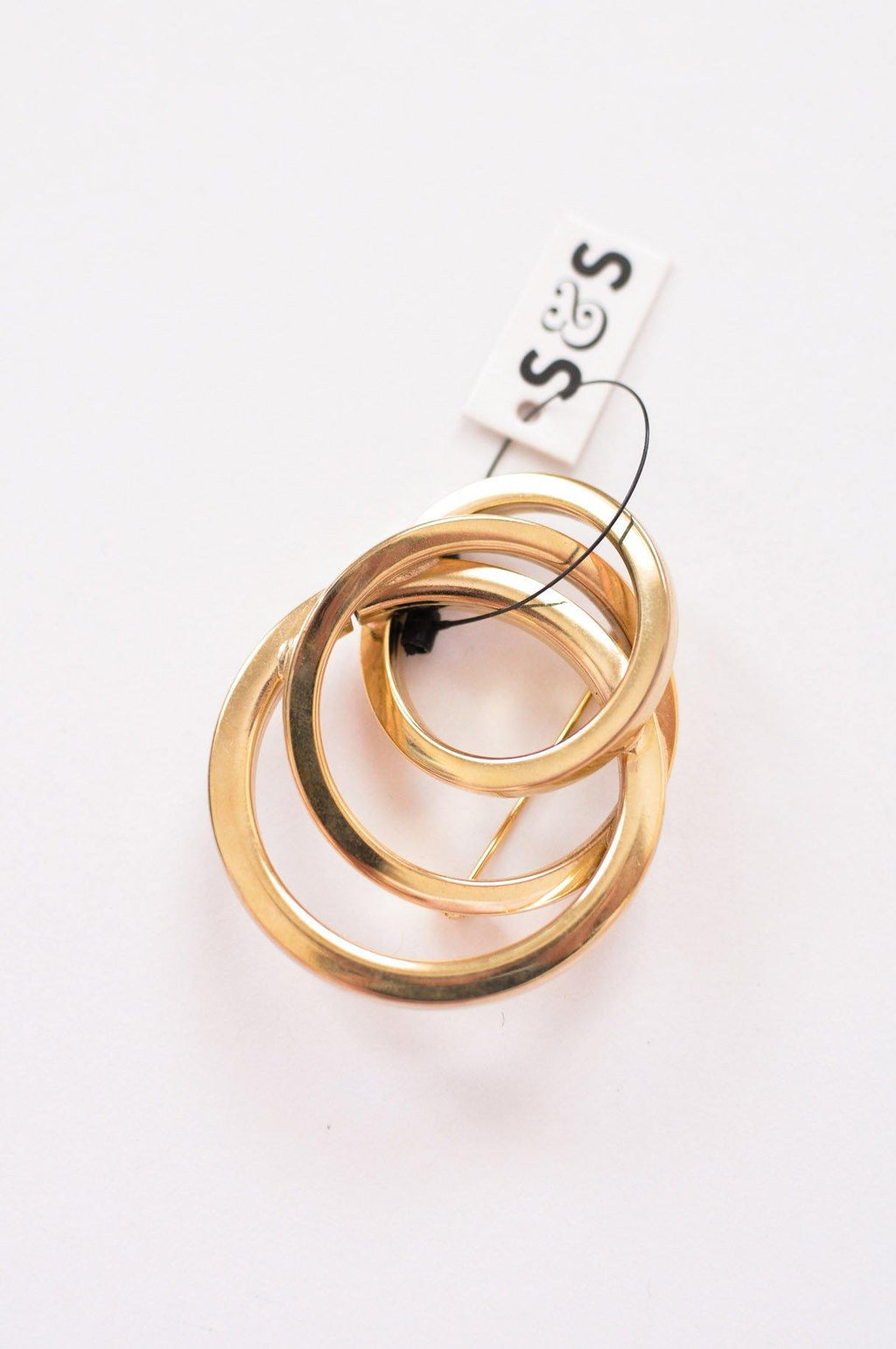 Rings Statement Brooch