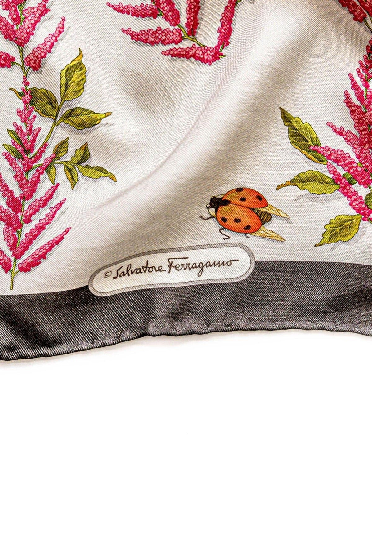 Salvatore Ferragamo Ladybug Scarf From Sweet & Spark.