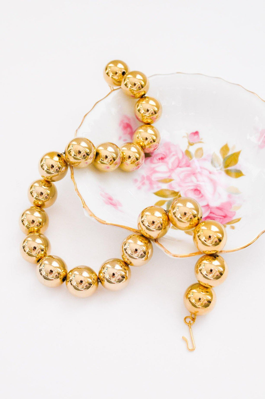 Chunky Ball Statement Necklace