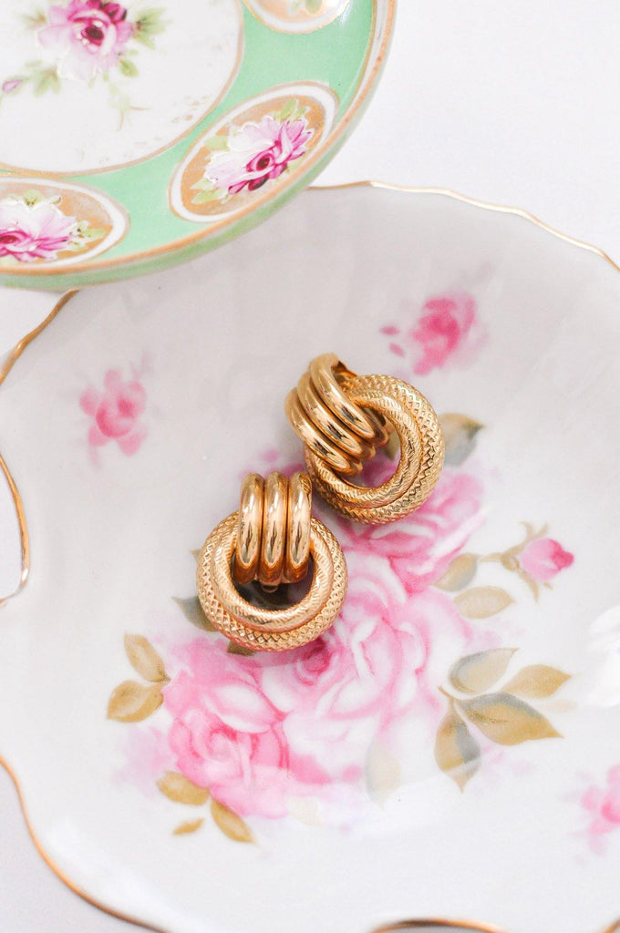 Door Knocker Clip-on Earrings