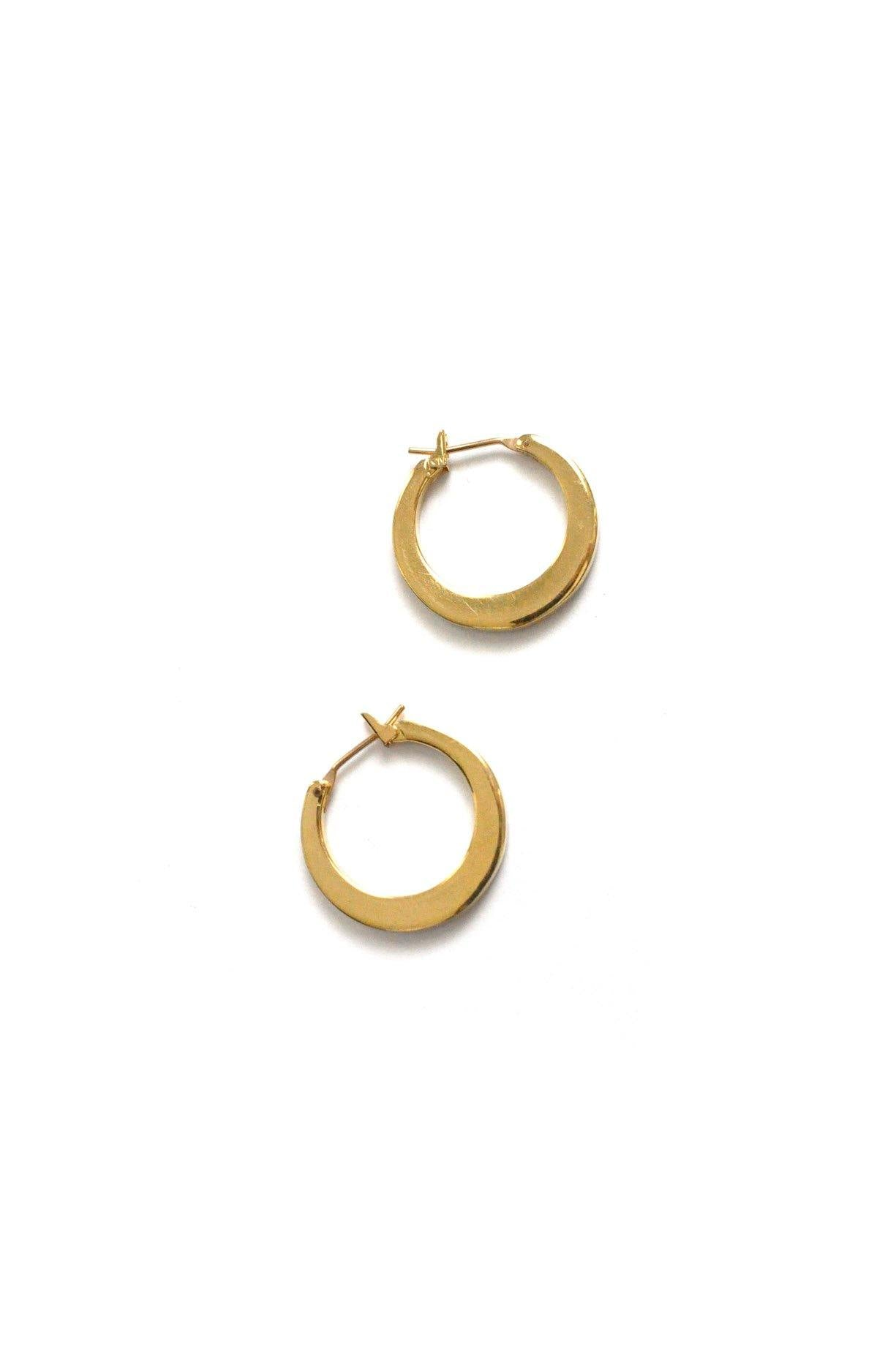 Classic Hoop Pierced Earrings