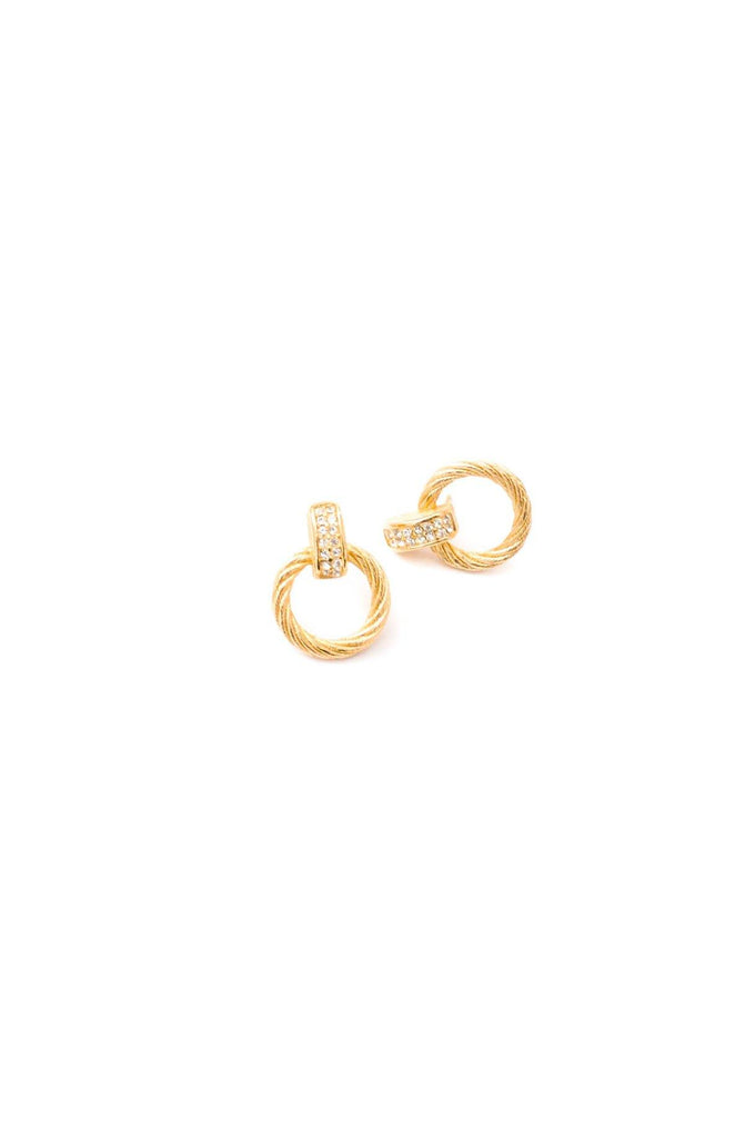 Christian Dior Hoop Pierced Earrings