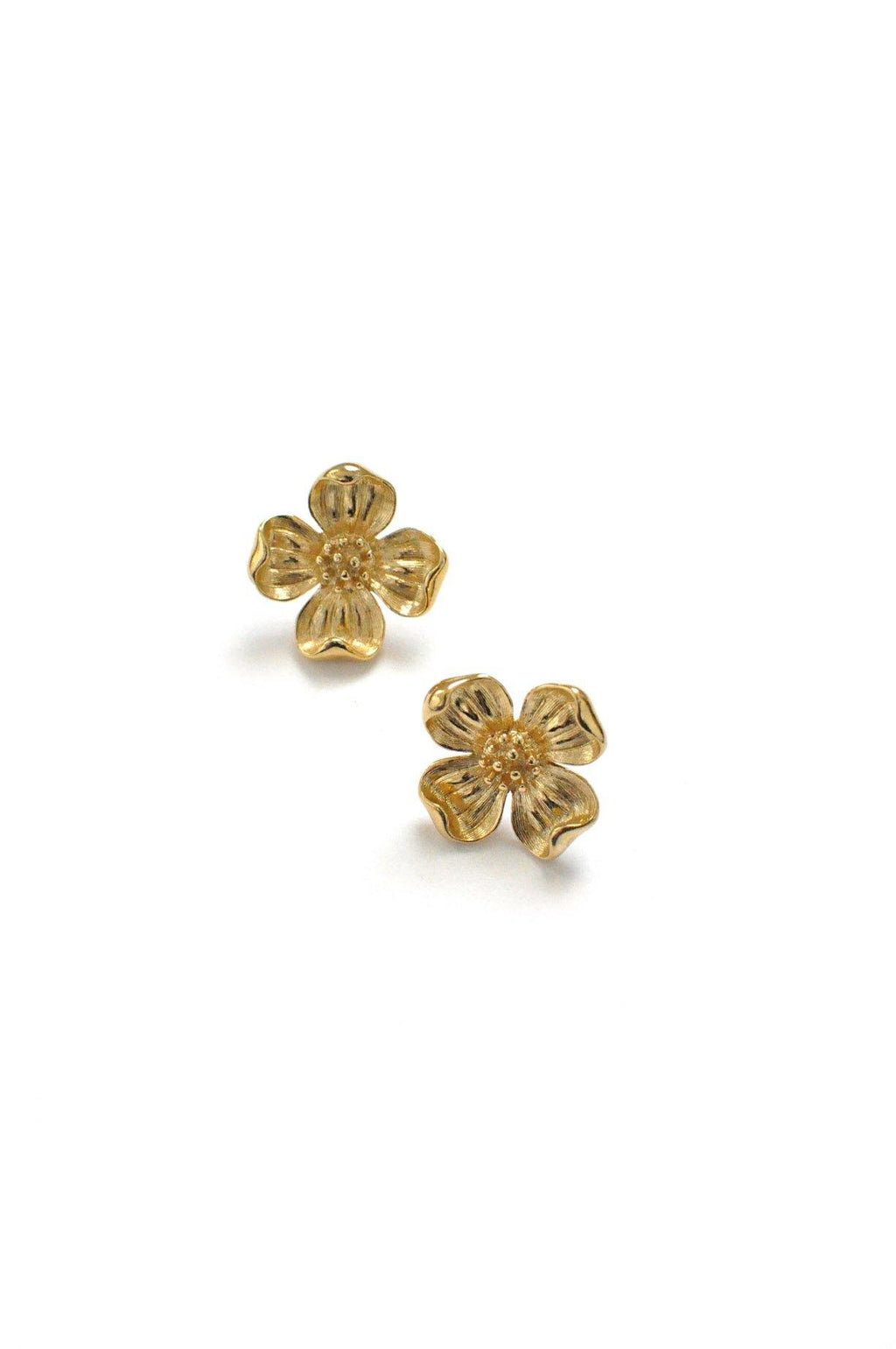 Floral Pierced Earrings