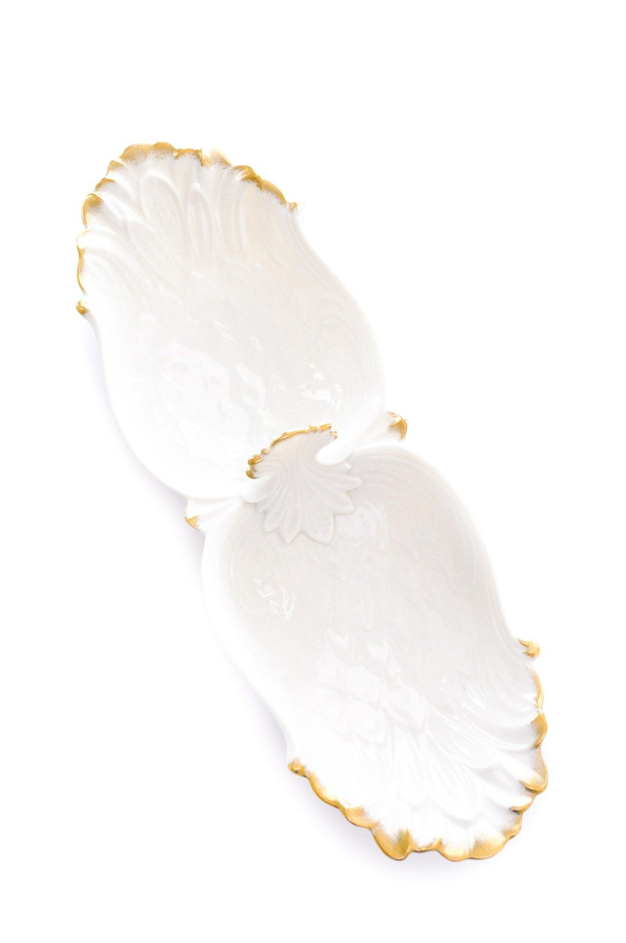 Feathered Jewelry Dish