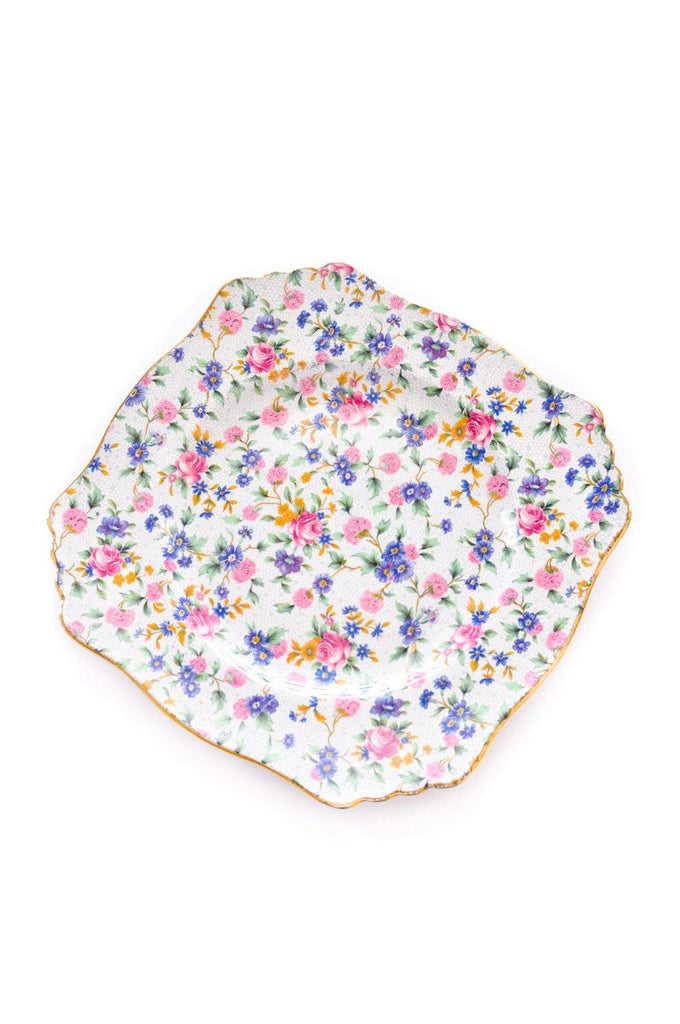 Floral Jewelry Plate
