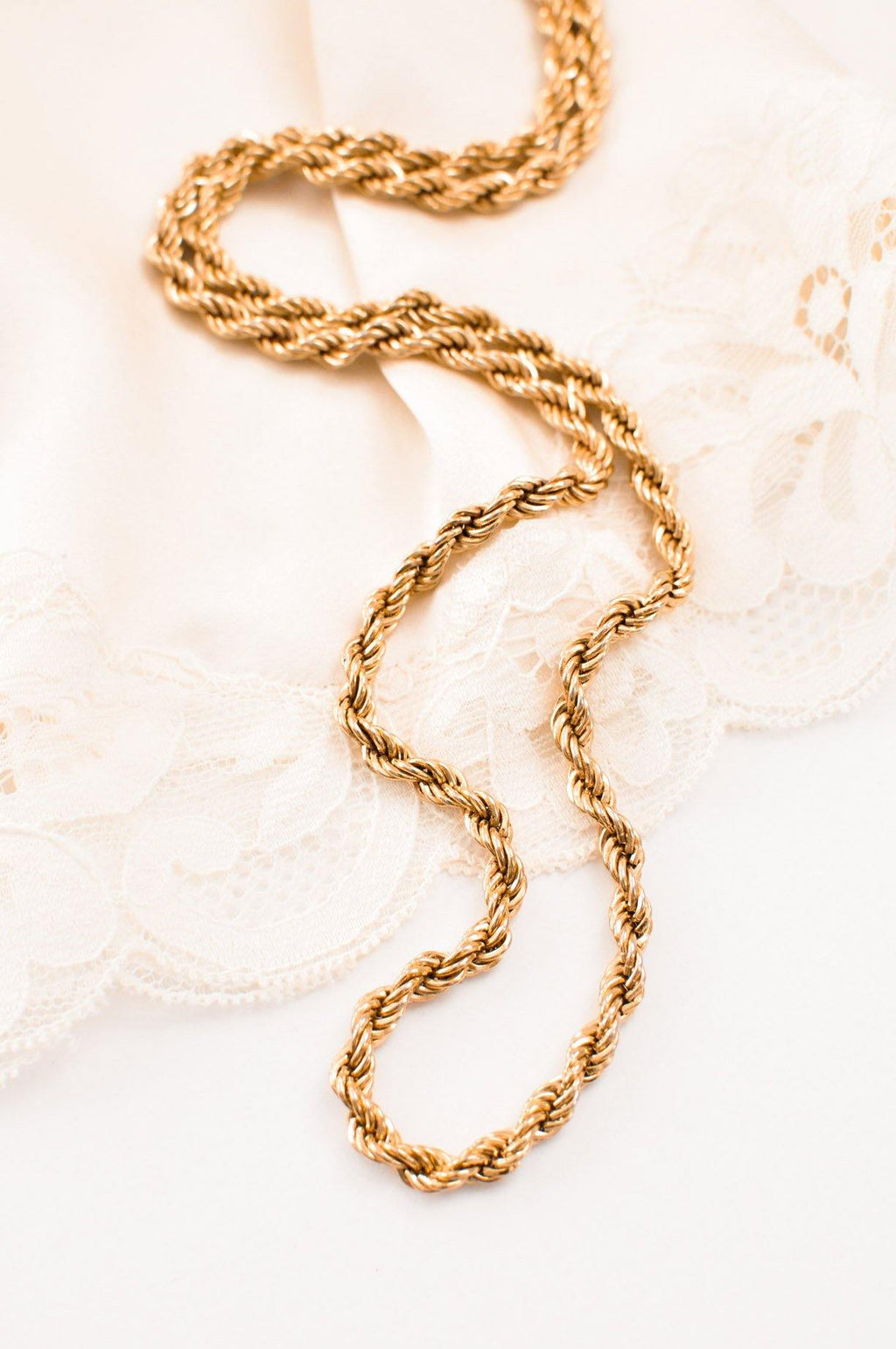 Classic Rope Necklace