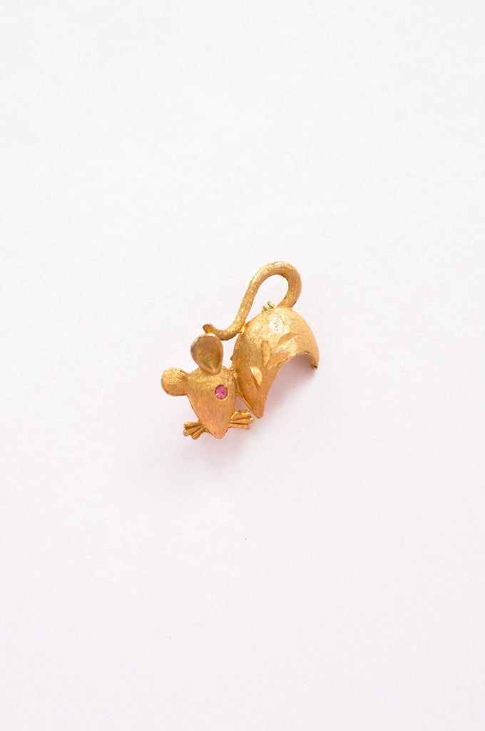 Mini Mouse Brooch