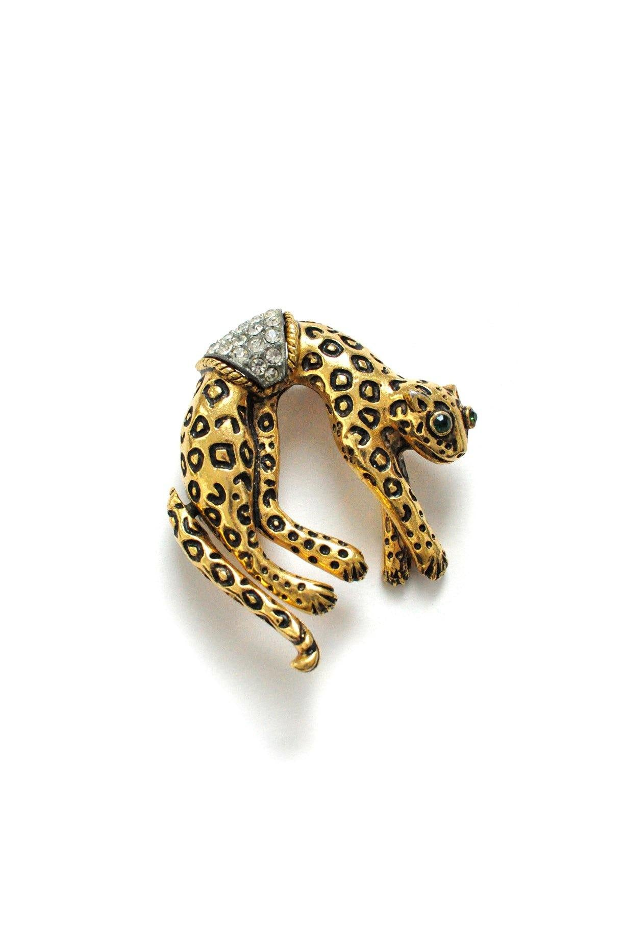 Jaguar Brooch