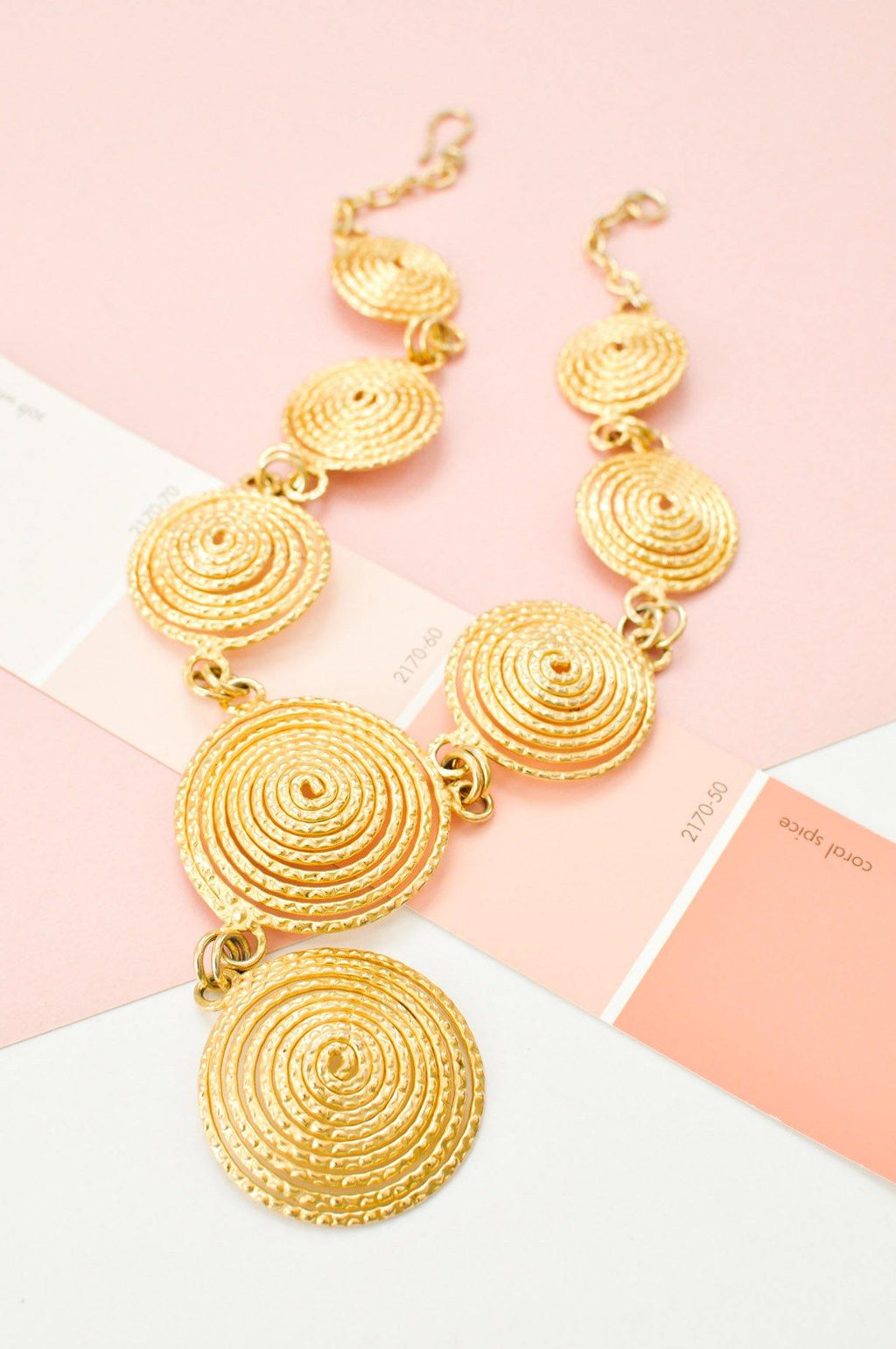 Statement Swirl Necklace