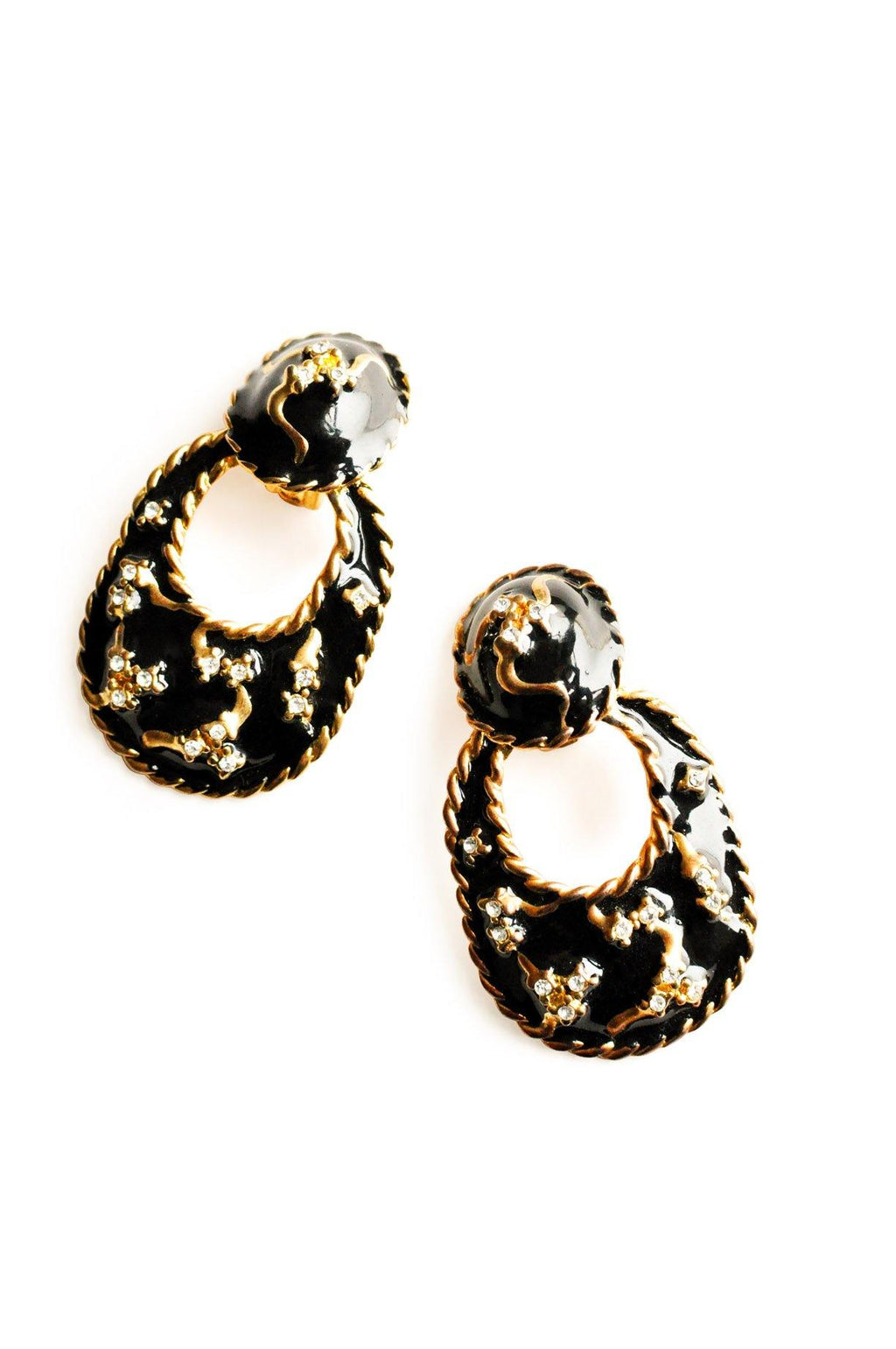 Statement Door Knocker Clip-on Earrings