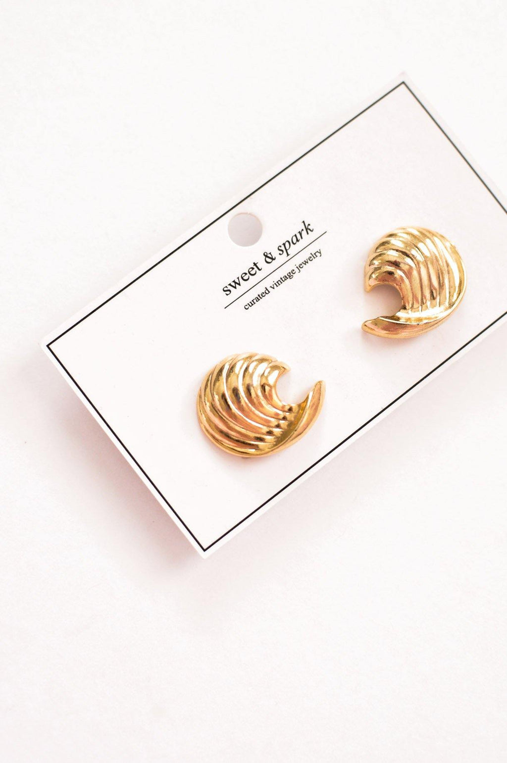 Half Moon Clip-on Earrings