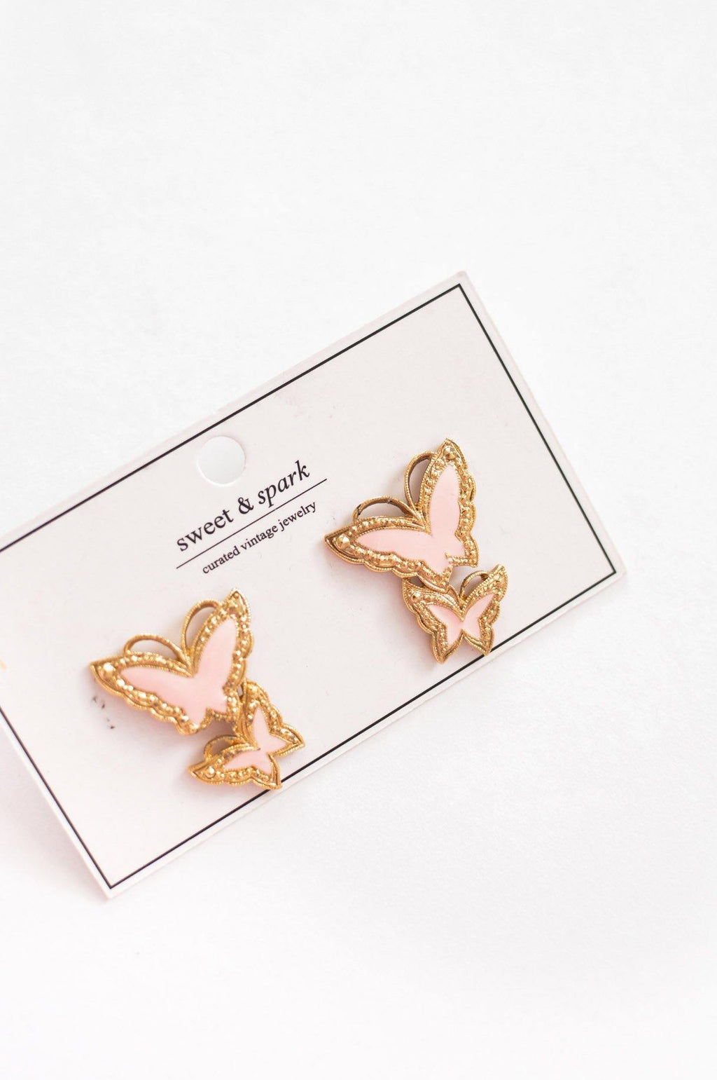 Butterfly Pierced Earrings