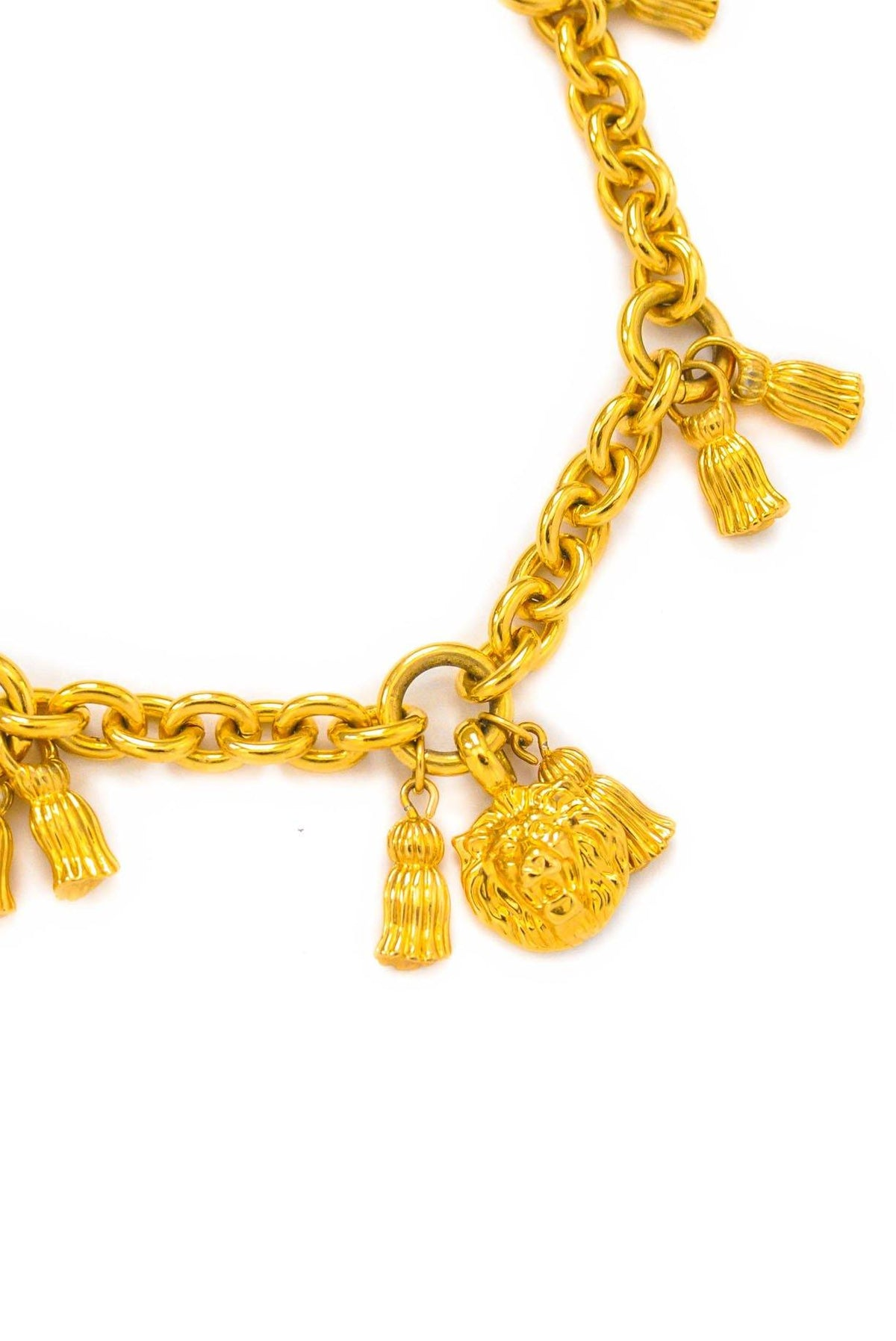 Vintage Anne Klein Lion Charm Necklace from Sweet and Spark