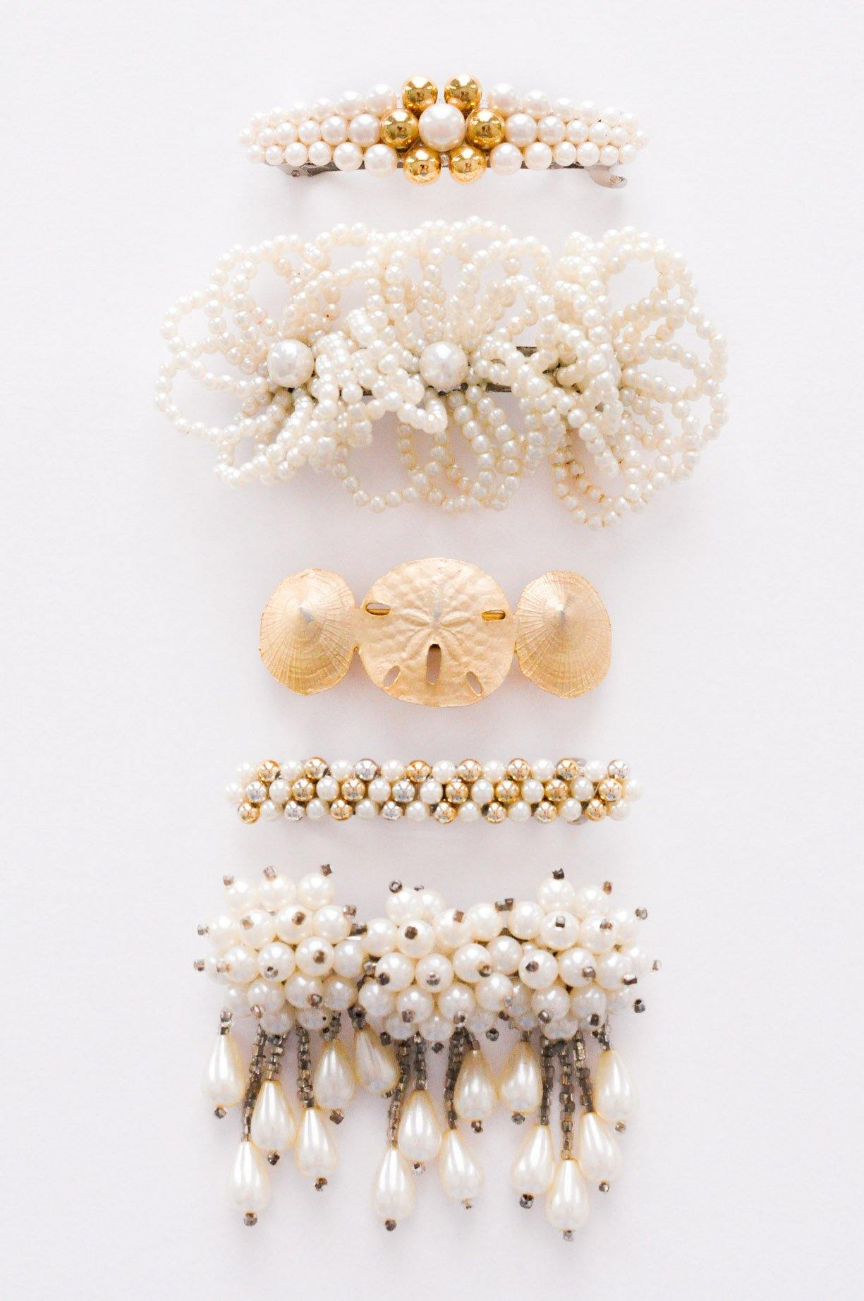 Pearl Statement Hair Barrette