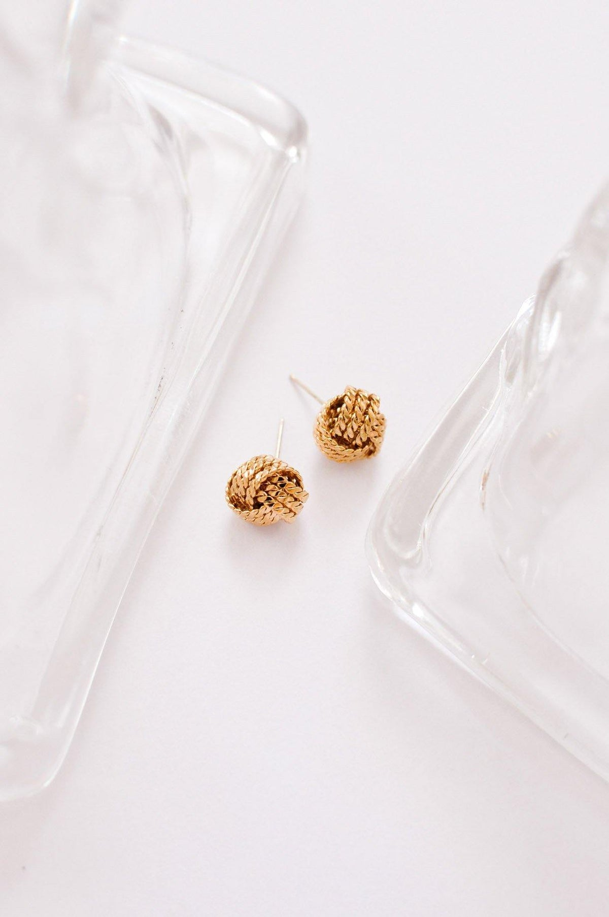 Knot Pierced Earrings - Sweet & Spark