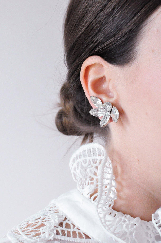 Pretty Crawler Clip-on Earrings