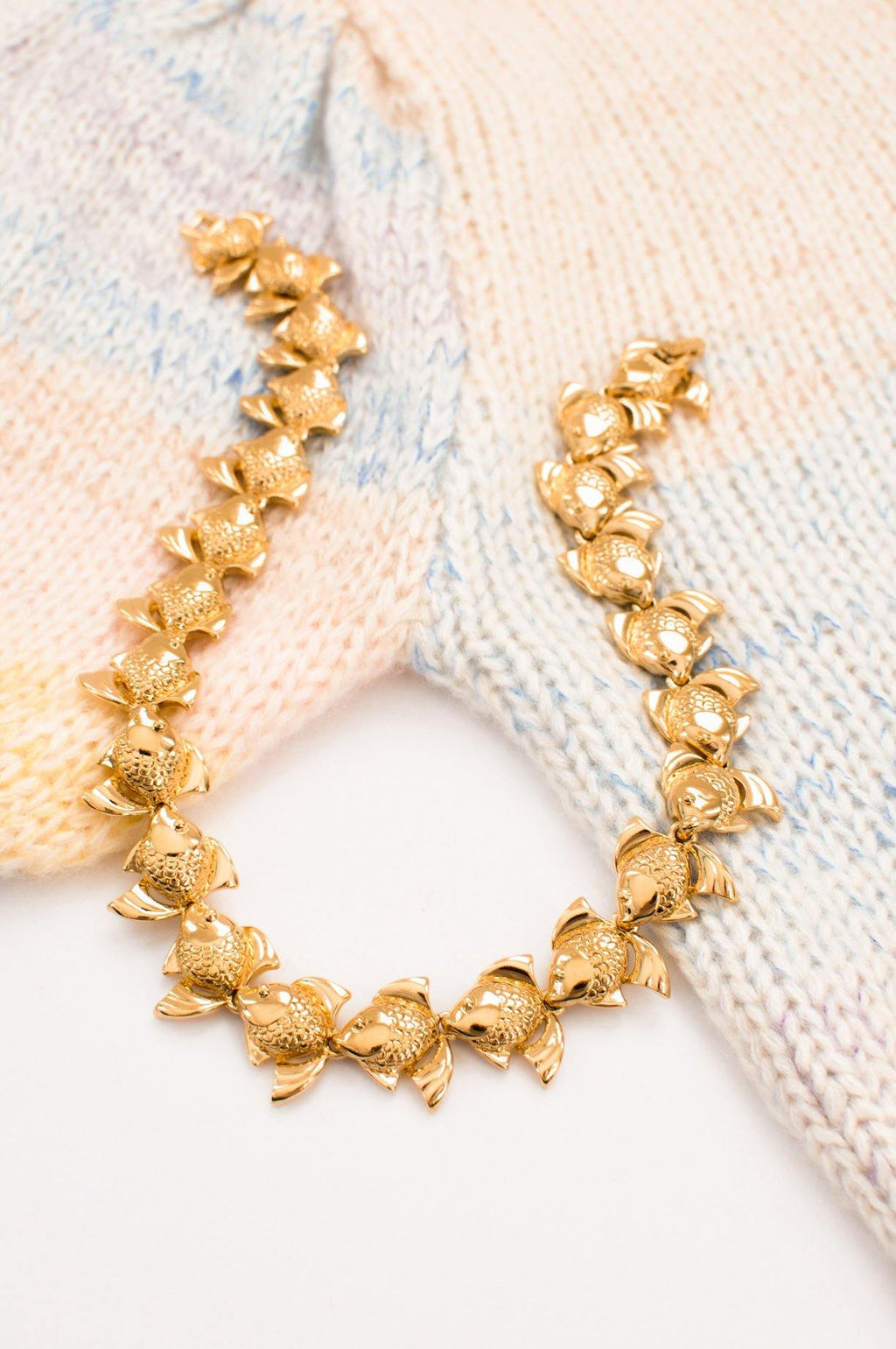 Fish Statement Necklace