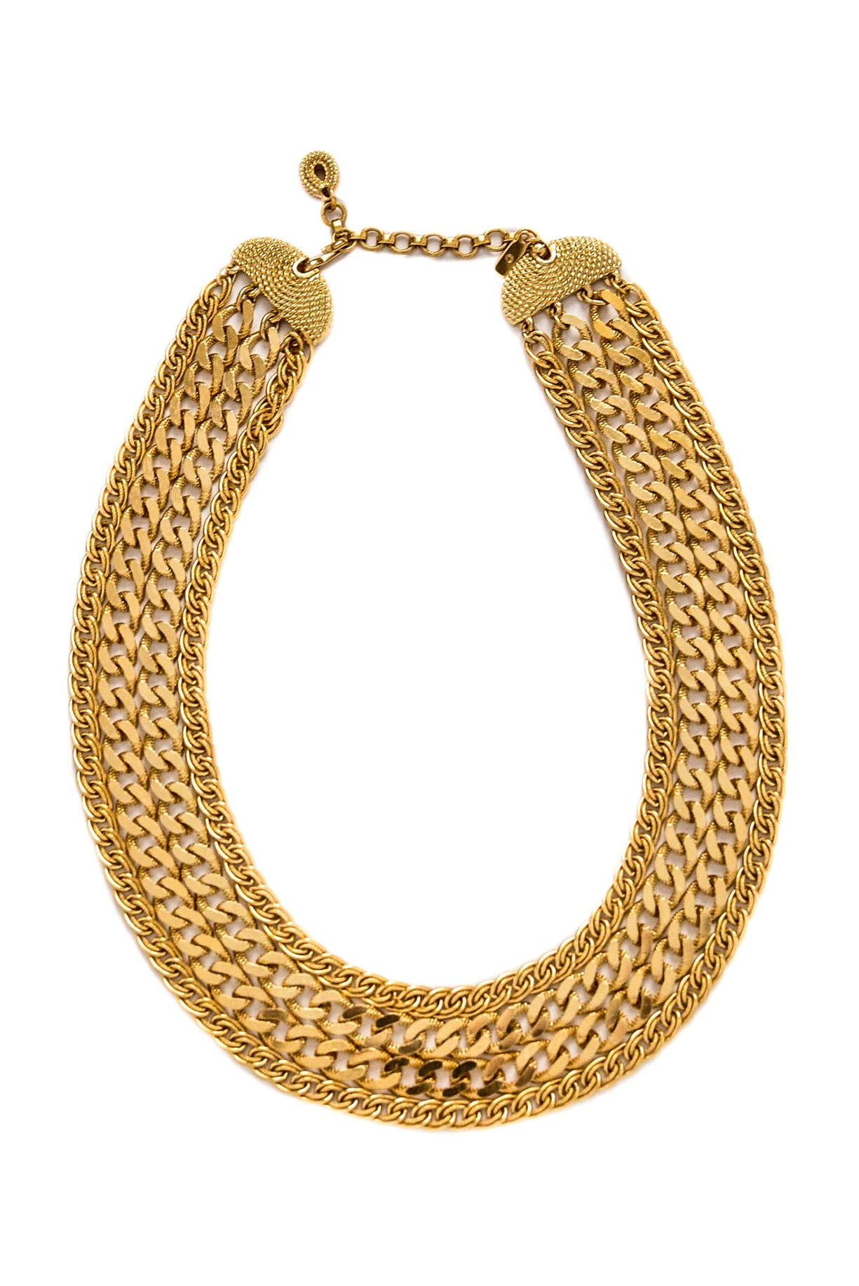 Vintage Multi Layered Chain Necklace from Sweet and Spark