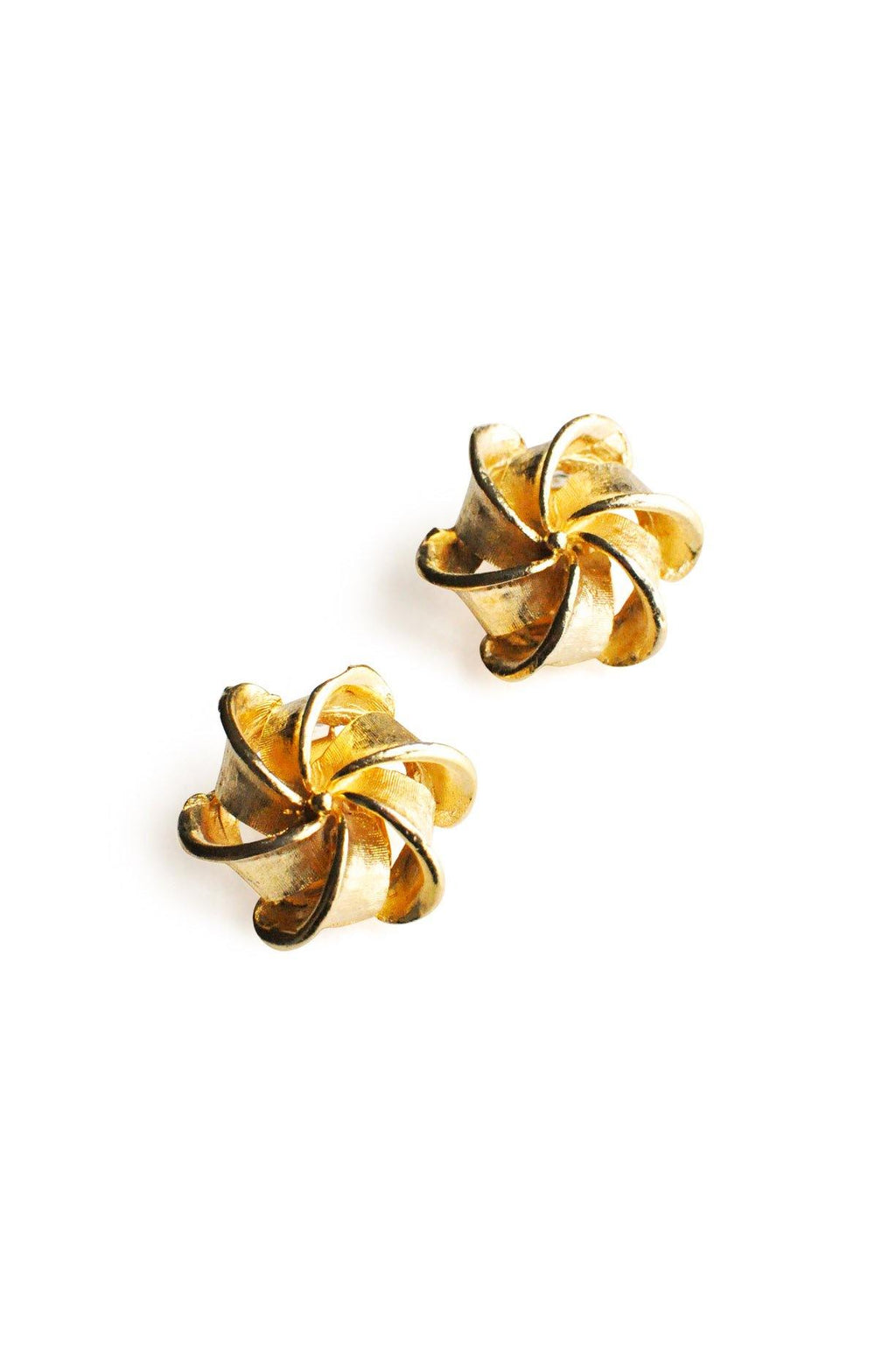 Pinwheel Clip-On Earrings