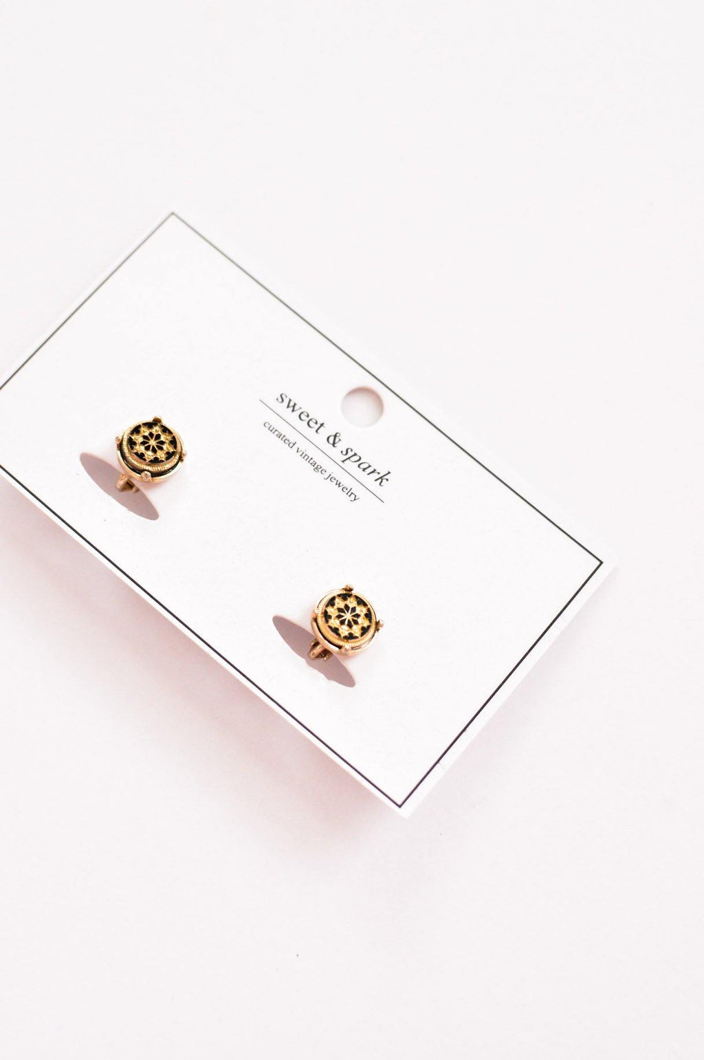 Dainty Round Clip-on Earrings